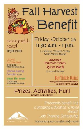 Fall Harvest Benefit