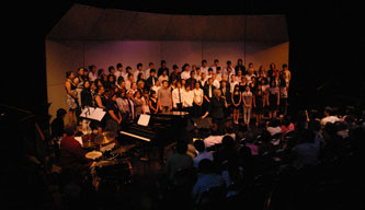 Concert Choir performance