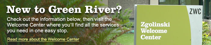 New to Green River - Visit the Welcome Center