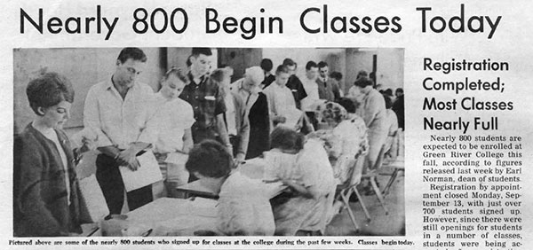 photo - begin classes