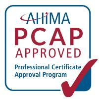 AHIMA Professional Certificate Approval Program logo