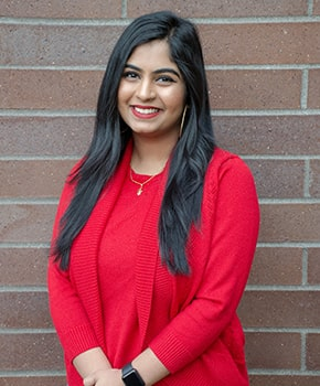 Shweta Singh, program coordinator, Running Start