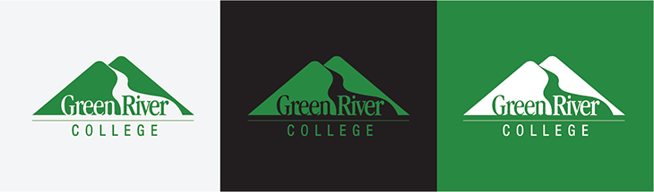 The Green River College Logo Green River College