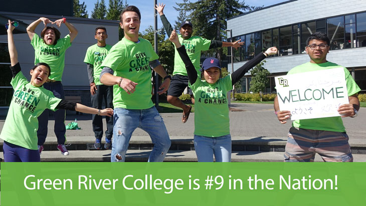Green River College is #9 in the nation
