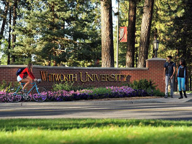 Whitworth University Campus Map.Whitworth University Green River College