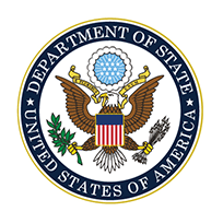 logo for the United States Department of State