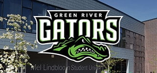 Green River College Gator Logo