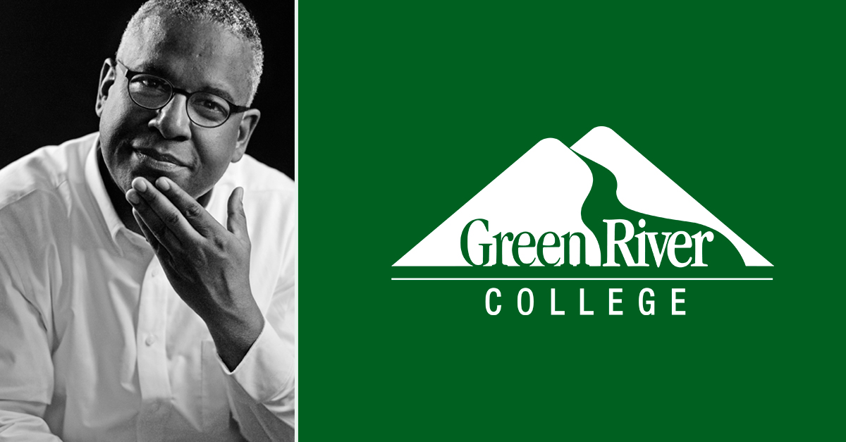 image of Clennon L King and the Green River College logo