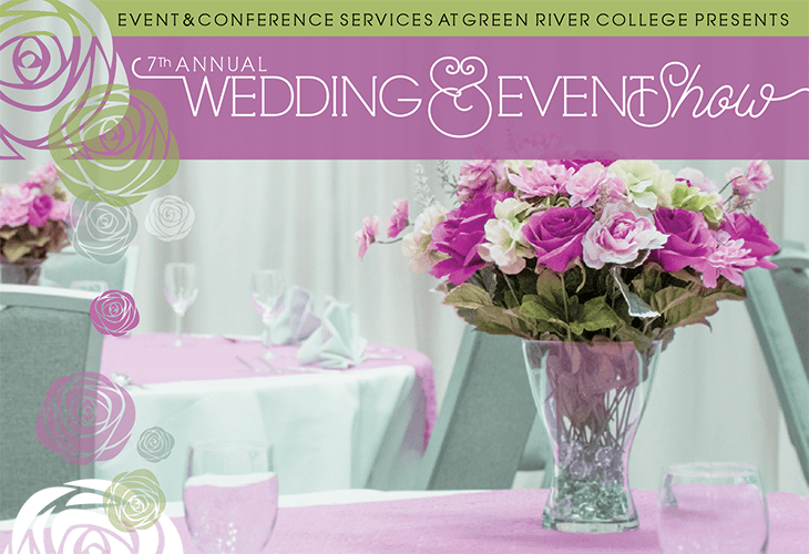 banner image for Green River College's 7th Annual Wedding & Event show