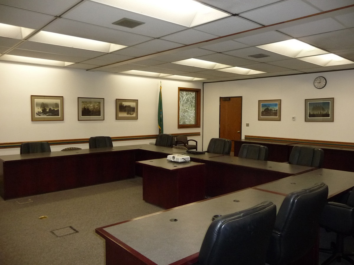 The Administration boardroom