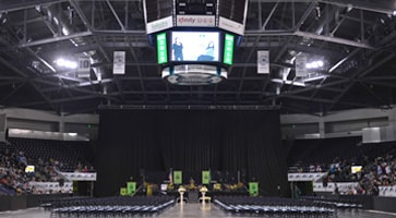 photo of the interior of the ShoWare Center