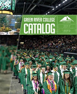 cover image of the 2017-2019 Green River College Catalog