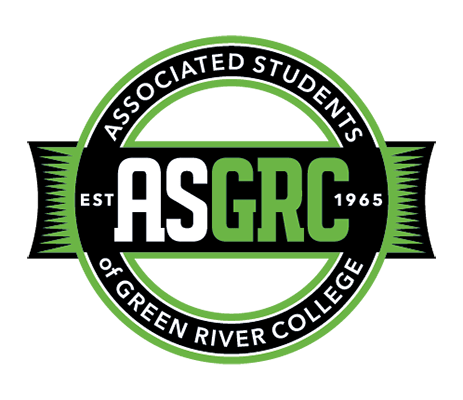Seal for the Associated Students of Green River College (ASGRC), established 1965.