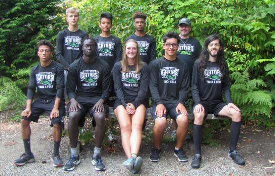 photo of the 2018 Green River College Cross Country Team
