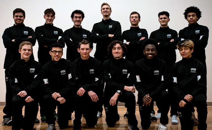 Green River College Mens Track and Field Team