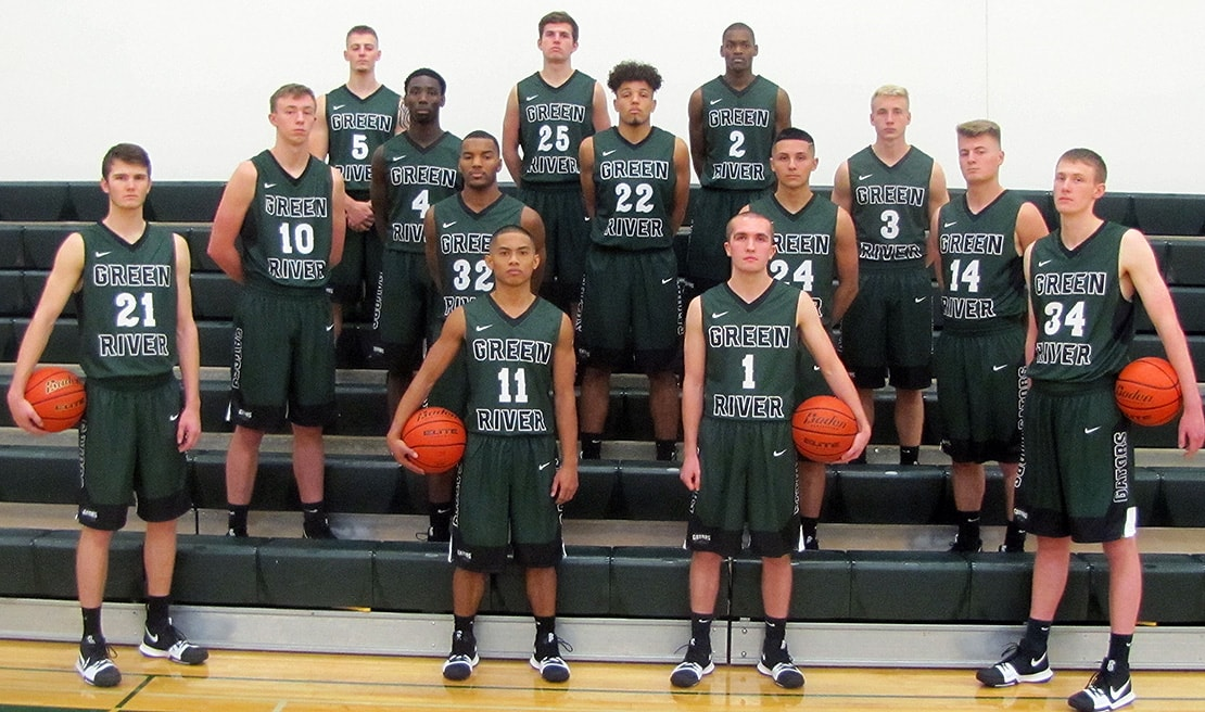 photo of Green River College 2017-18 Men's Basketball team