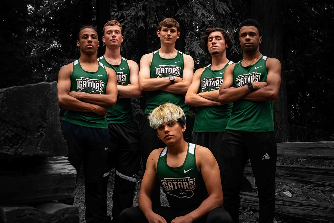 2019 Green River College Men;s Cross Country Team