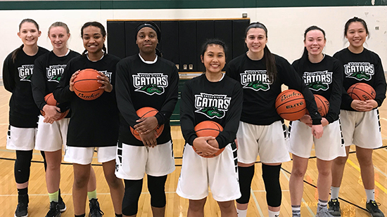 photo of the 2017-18 Green River Women