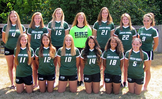 photo of the 2017 Green River College Women