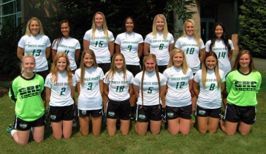 photo of the 2018 Green River College Women