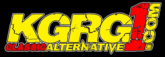 logo for the KGRG1 Classic Alternative radio station