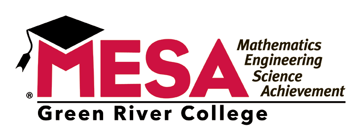logo for the Mathematics, Engineering, Science Achievement (MESA) Program at Green River College